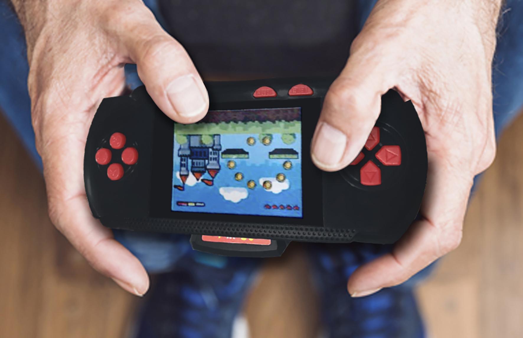 Ginga presenta nueva consola individual de video juegos