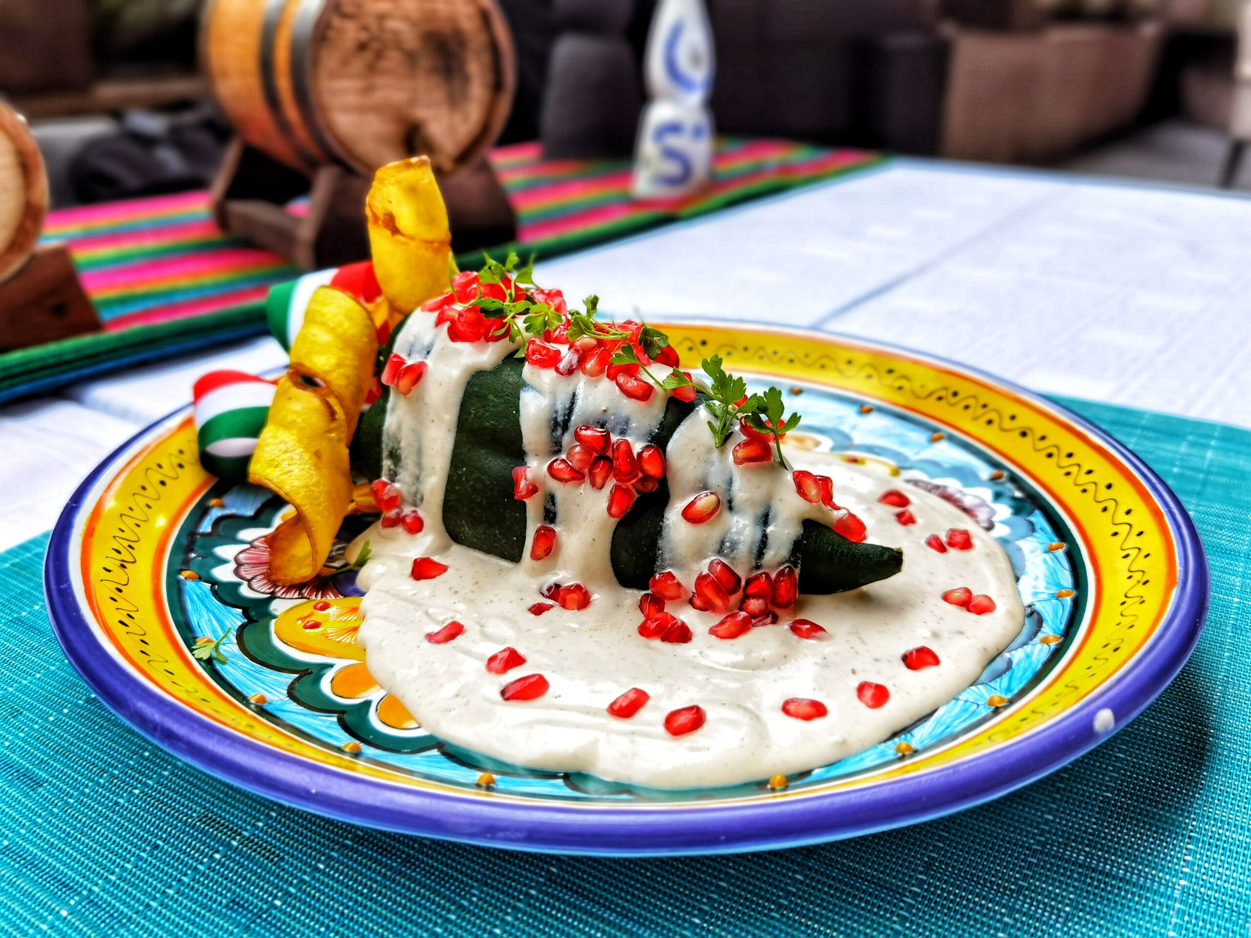 La chiles en nogada del chef Ciro Mejía llegan a Xanat del JW Marriott Ciudad de México