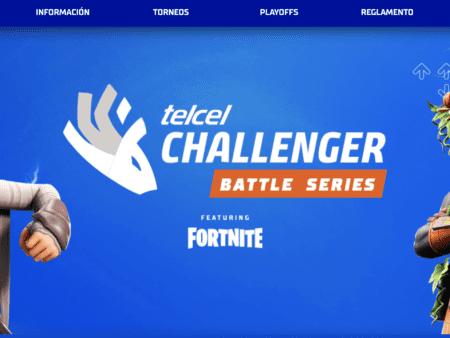 Ya te puedes registrar al Telcel Challenger Battle Series: Fortnite