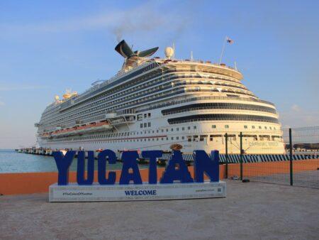 Con estrictas medidas y protocolos de bioseguridad, Yucatán reinicia operación de cruceros